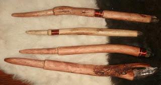walking stick and magic wand making from wood