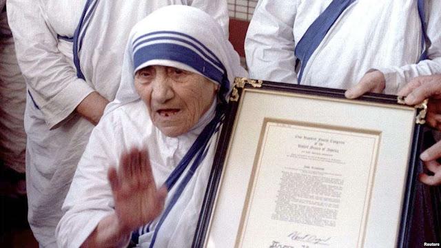 Vatikan akan 'Kanonisasi' Ibu Teresa pada 4 September 2016