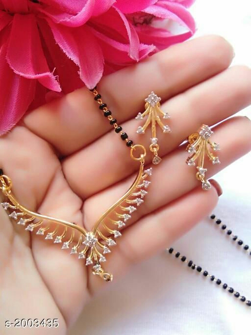 Trendy Fashionable Brass Mangalsutra