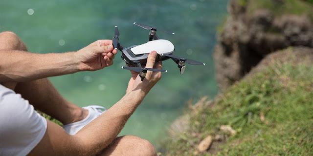 unique miniature quadrocopter