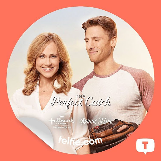 New #PerfectCatch Sticker from #SpringFling Hallmark Channel