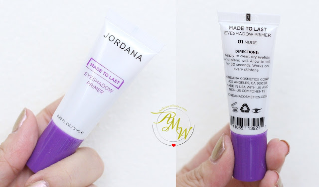 a photo of Jordana Made To Last Eyeshadow Primer Review