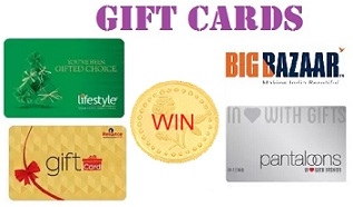 Win a 5 gram Gold Coin with Gift Cards @ Amazon; Be the Top spender on Gift Cards to Win
