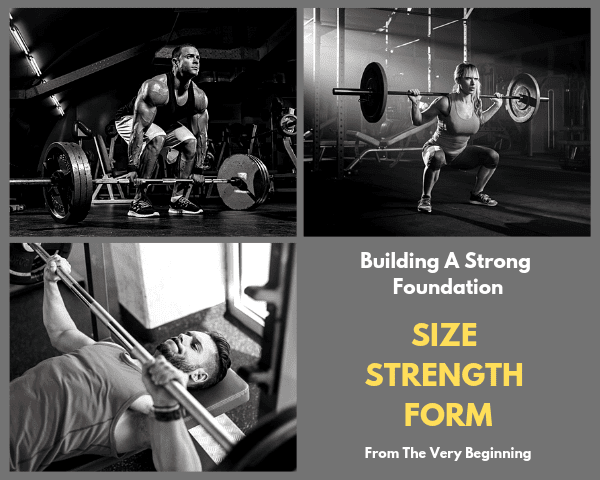 Building A Strong Foundation is how to gain muscle