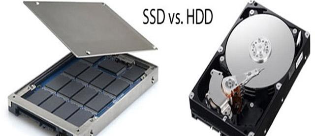 SSD vs HD notebook