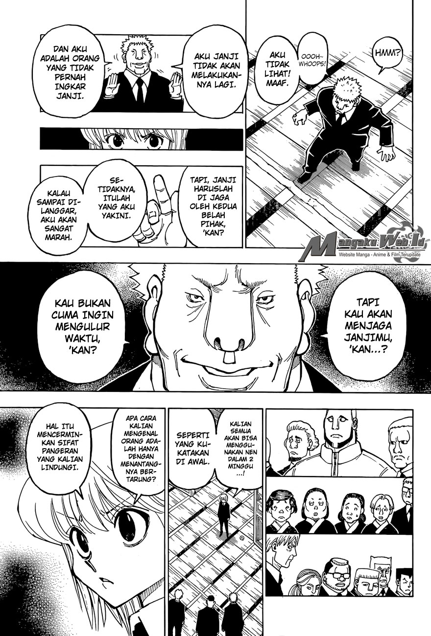Hunter X Hunter – Chapter 370 : Observasi