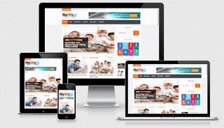 news52 blogger template - Web Developers Tricks, w3schools