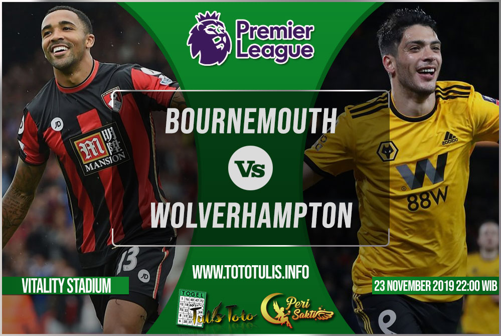 Prediksi Bournemouth vs Wolverhampton 23 November 2019