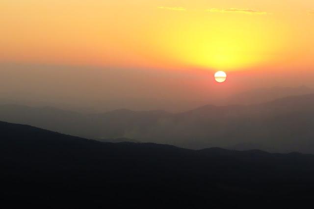 Pôr do Sol em Santo Antônio do Pinhal
