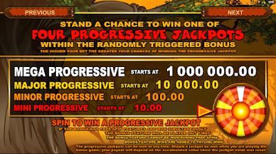 Mega Moolah Slot Progressive Jackpot