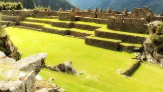 A Praça Principal de Machu Picchu