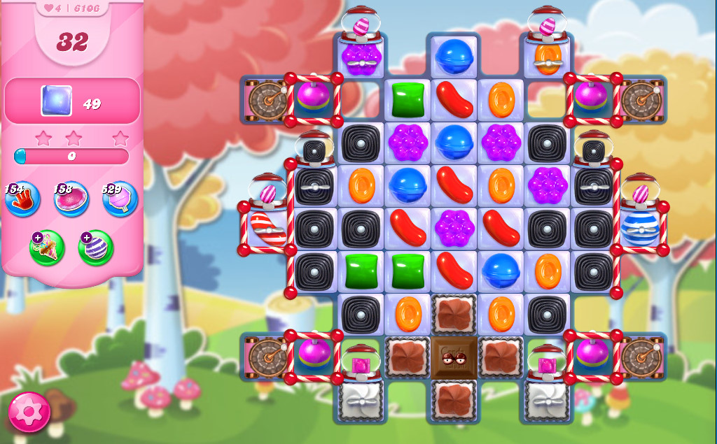 Candy Crush Saga level 6106