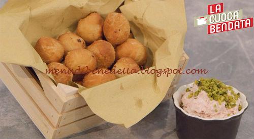 La Cuoca Bendata - Pizzette fritte con mousse di mortadella ricetta Parodi