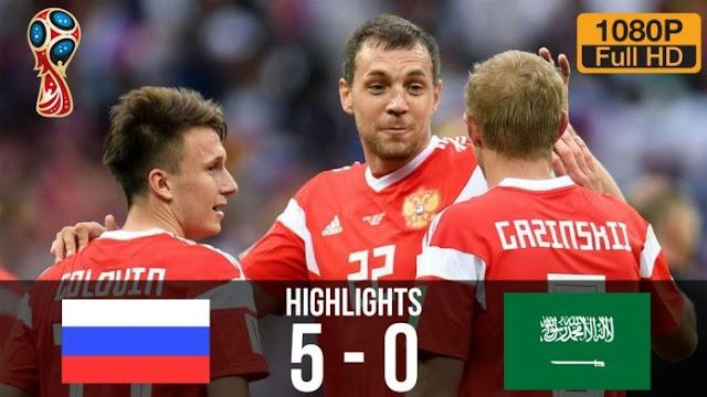 World Cup: Okocha Blast Saudi Arabia For Losing 5 – 0 To Russia
