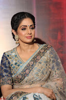 Sri Devi in designer saree stunning beauty at the launch of MOM movie Trailer~  Exclusive 125.JPG