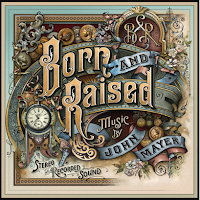 born and raised, john mayer, jm, cd, new, album, cover, image