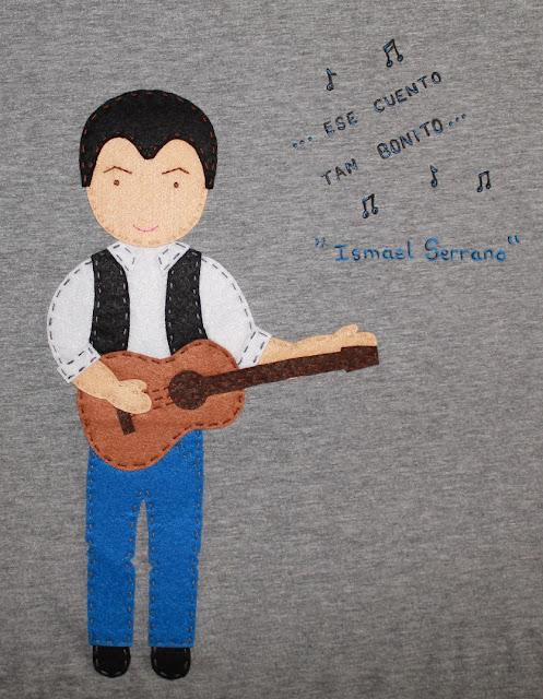 camiseta Ismael Serrano