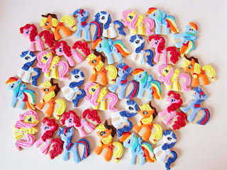 Galletas decoradas Little pony