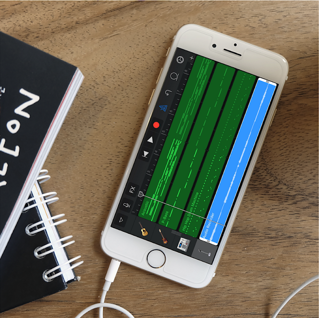 First thing first, of course you need to have an iOS device and a Garageband app to create a song.