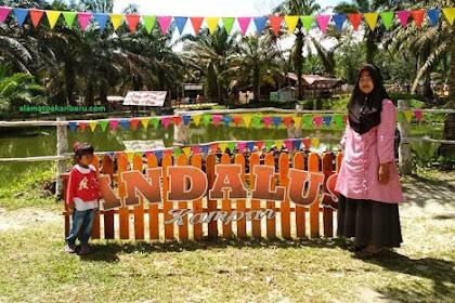Wisata keluarga Andalus  di Desa Silam Kecamatan Kuok Kampar