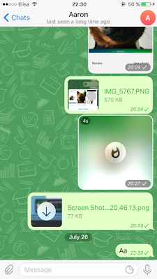 telegram включить шифрование