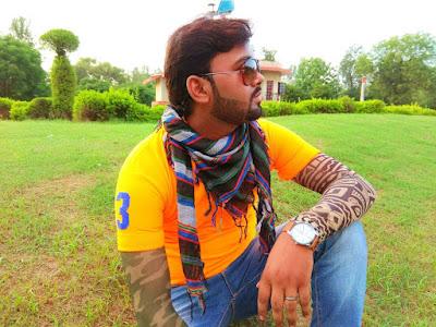 Singer Ankush Rai