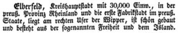 Elberfeld. Brockhaus Bilder-Conversations-Lexikon 1837