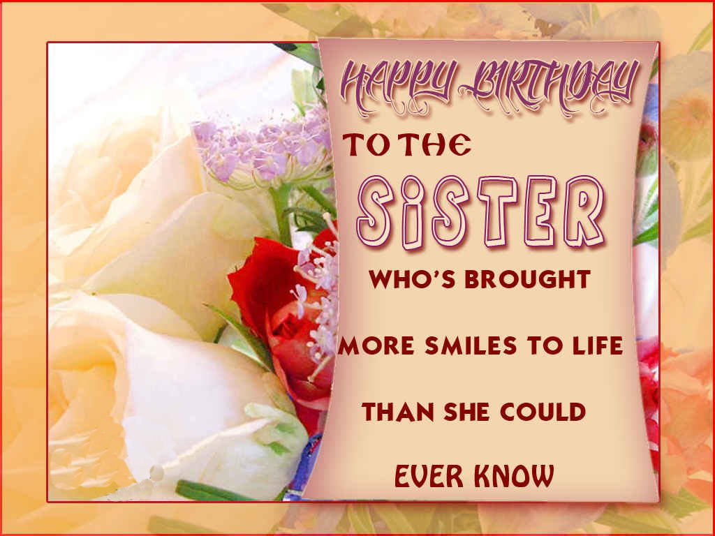 Unique happy birthday wishes for my dear sister romantic love happy birthday wishes to a friend like a sister m4hsunfo
