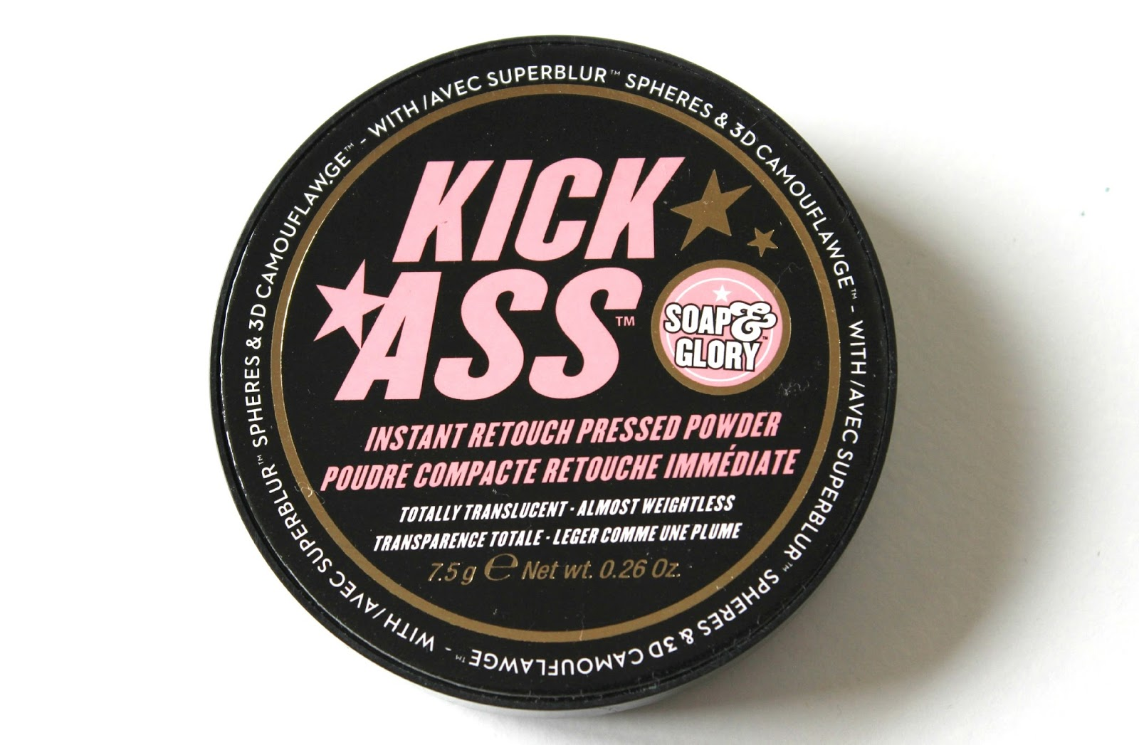 A picture of Soap & Glory Kick Ass Instant Retouch Pressed Powder