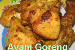 Resep Ayam Goreng Sederhana Bumbu Kuning Enak
