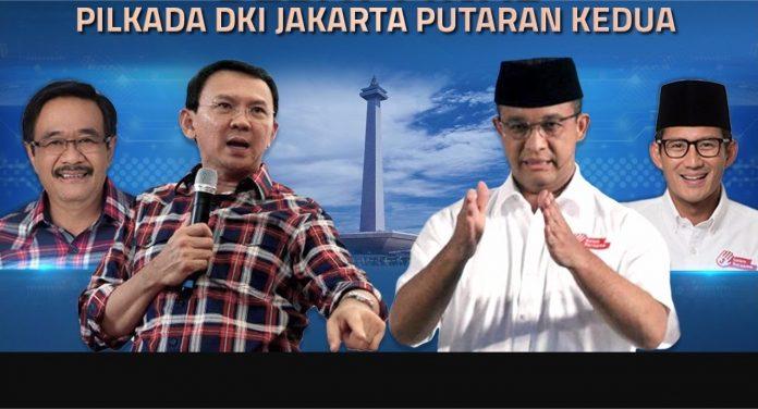 Hasil Quick Count (Hitung Cepat) Pemilu Pilkada DKI Jakarta 2017 Putaran ke-2
