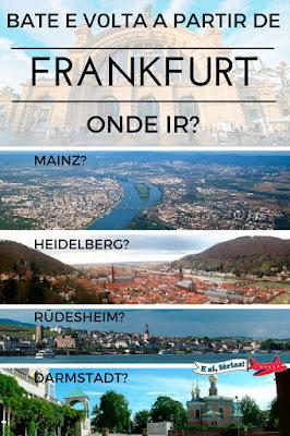 Bate e volta a partir de Frankfurt
