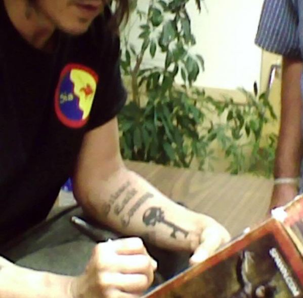 complete list of johnny depp tattoos with meaning page 2