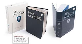 Bíblia de Estudo ANDREWS