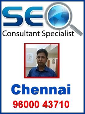 SEO Consultant in Chennai