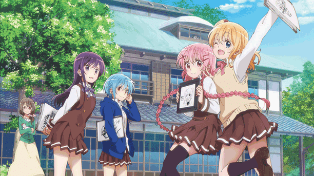 Anime Slice of Life Comedy Terbaik - Comic Girls
