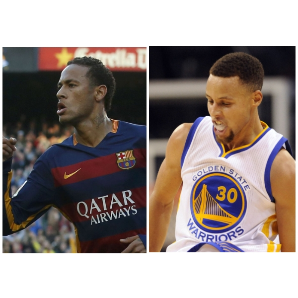 be892aa0d68c Neymar says he changed his hairdo to look like Stephen Curry ...