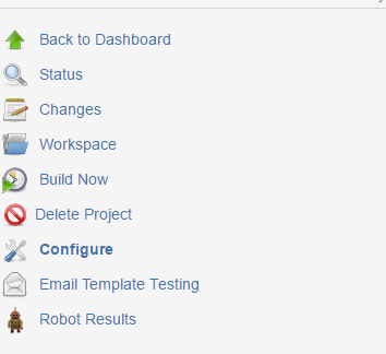 Robotframework Result Integration With Jenkins And Email Plugins