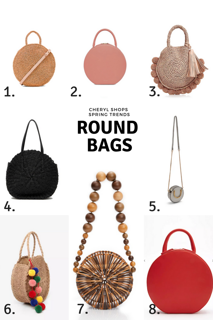 Bag Shops Spring Trends Round Bags Cheryl Shops