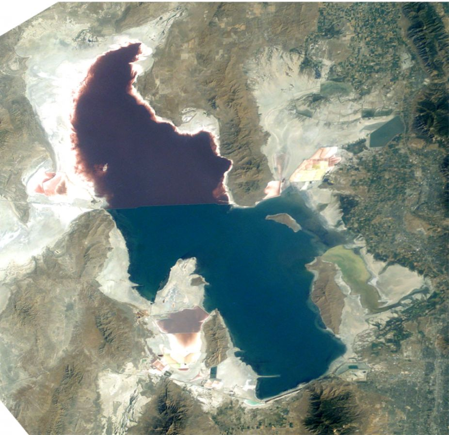 Utah Great Salt Lake has shrunk 48% since 1847 and scientists