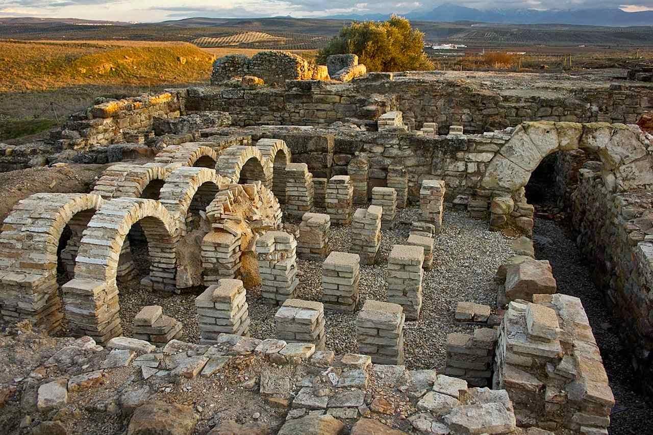 A jazida arqueológica de Cástulo, local do achado