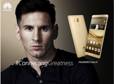 Lionel Messi, ambassadeur d'Huawei
