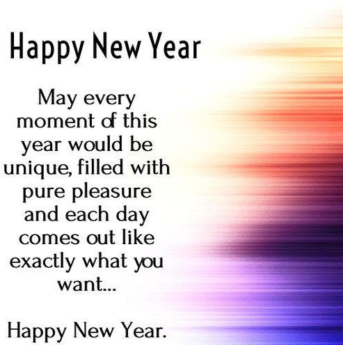happy new year greetings HD pictures