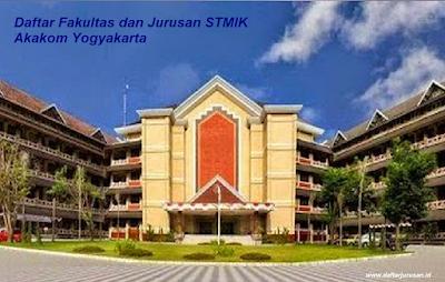 Daftar Fakultas dan Jurusan STMIK Akakom Yogyakarta Terbaru
