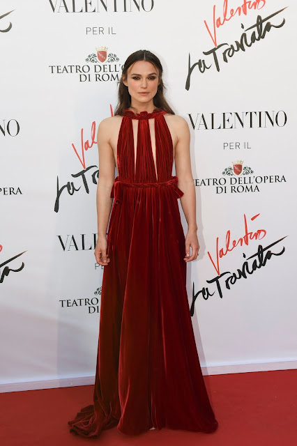 Actress, @ Keira Knightley - 'La Traviata' Premiere in Rom