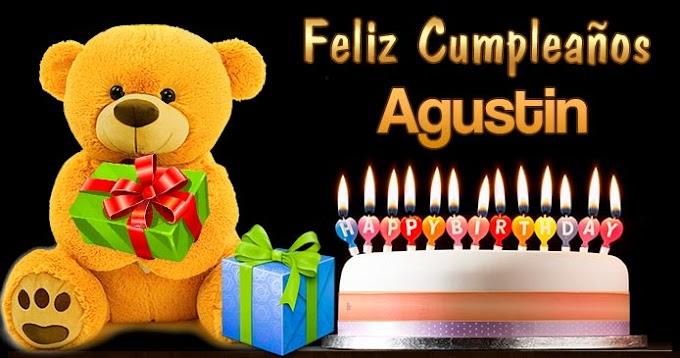 Feliz Cumpleaños Agustin