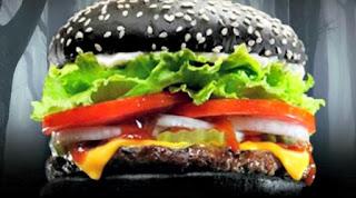 Black Burger, Sensasi Baru Makan Burger
