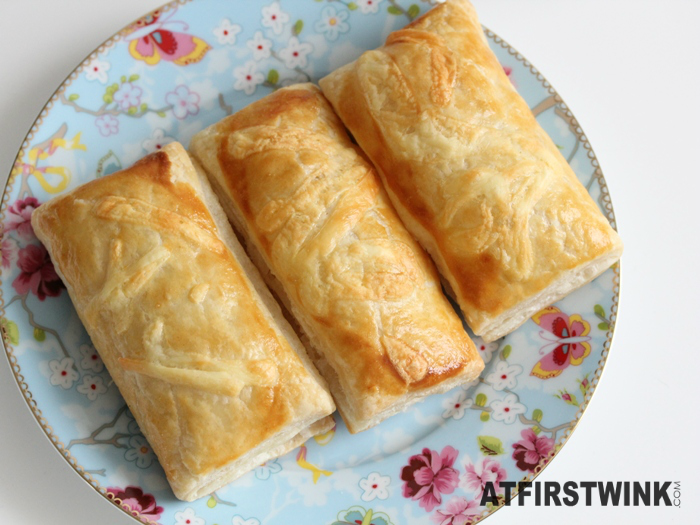 pastry filled with creamy fish filling
