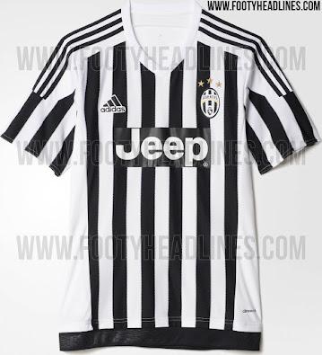 brand new 055ee 4408b Adidas Juventus 15-16 Kits Released - Footy Headlines