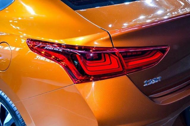 2017 Hyundai Verna taillight